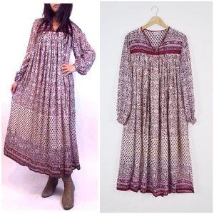 Amazing deadstock vintage Indian cotton dress